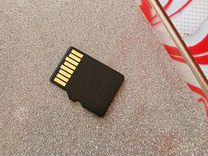 Карта памяти MicroSD 16Гб Class 10