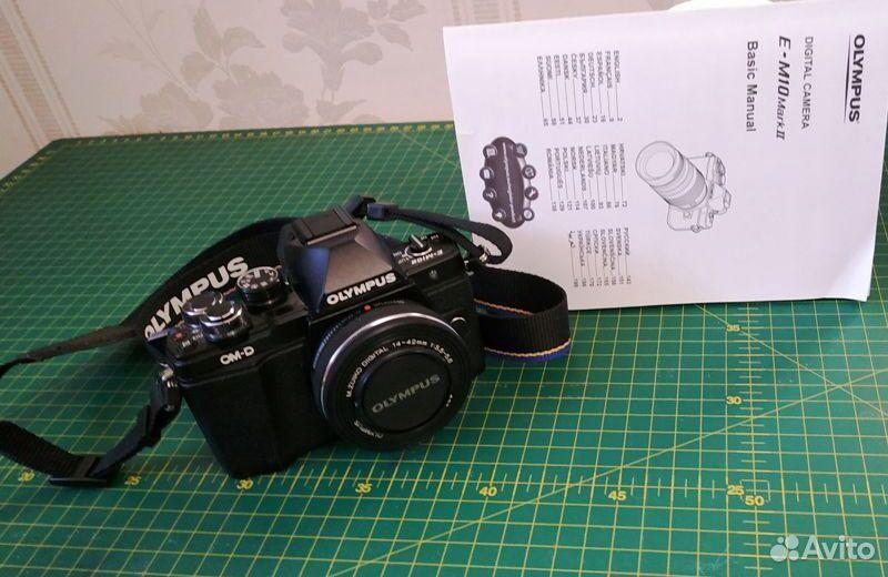 Фотоаппарат Olympus OM-D E-M10 Mark II