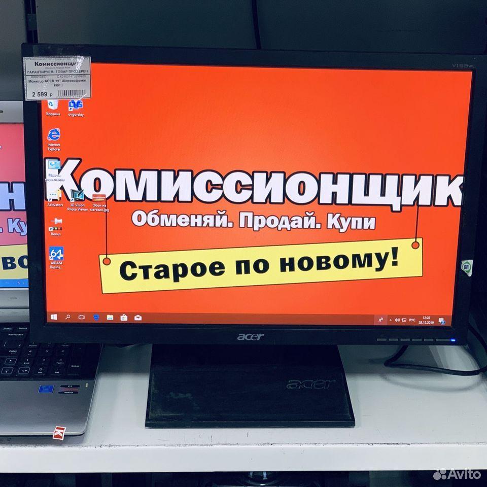 """Монитор Acer 19"""" широкоформатный. Кгн08  89225782014 купить 2"""