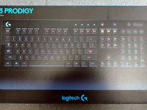 Logitech g gaming keyboard g105 black usb