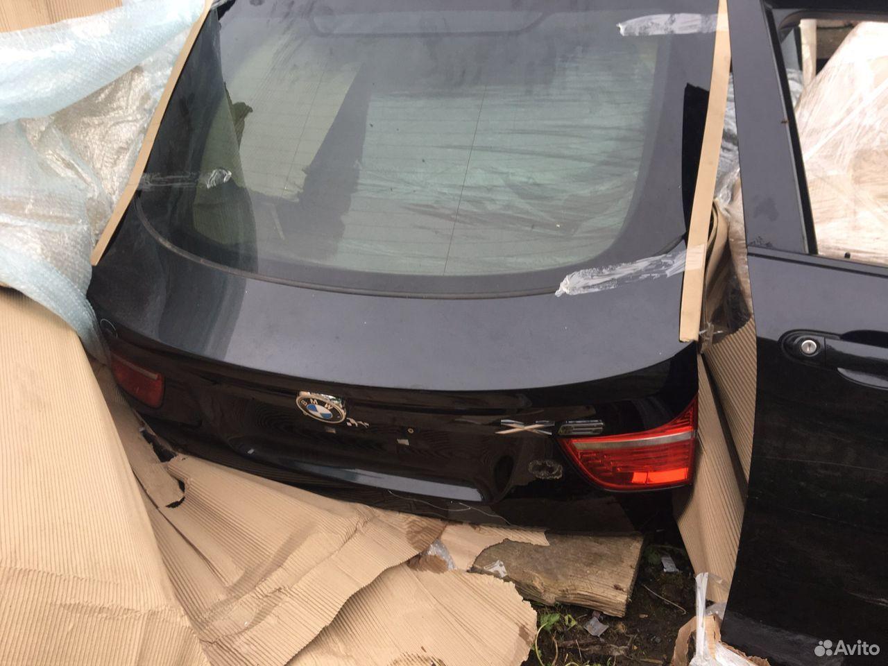 Bmw x6 e71 задняя крышка багажника, 5 дверь  89203215747 купить 1