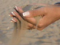 Песок природный до 0,4 мм