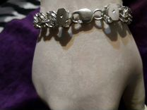 Серебряная цепь и браслеты