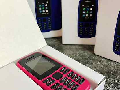 Новый телефон Nokia 105 / Кнопочный