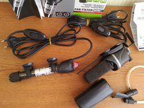 Терморегулятор Hydor 25W Помпа Фильтр Aquael mini — Аквариум в Геленджике